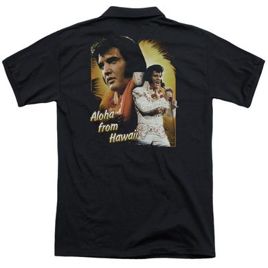 Elvis Presley ALOHA (BACK PRINT)