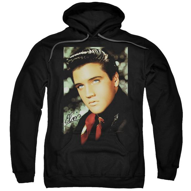 Elvis Presley Hoodie | RED SCARF Pull-Over Sweatshirt