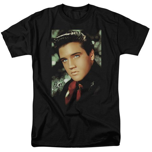 Elvis Presley Shirt | RED SCARF T Shirt