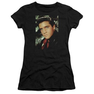 Elvis Presley Juniors Shirt | RED SCARF Juniors T Shirt