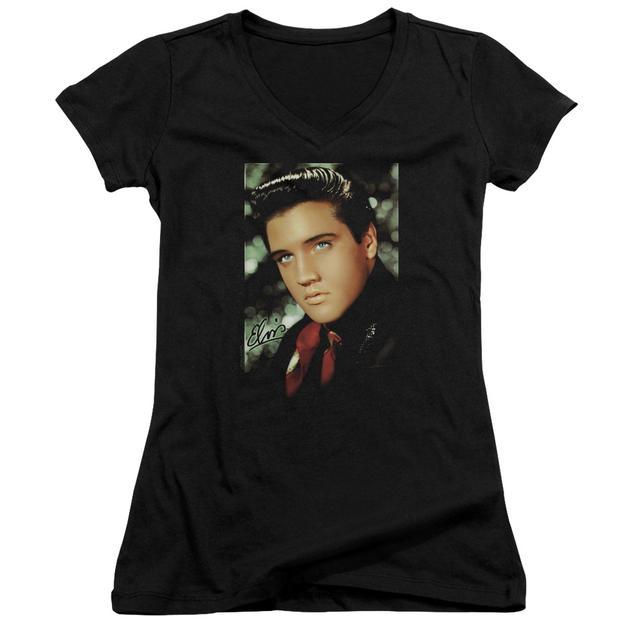 Elvis Presley Junior's V-Neck Shirt | RED SCARF Junior's Tee