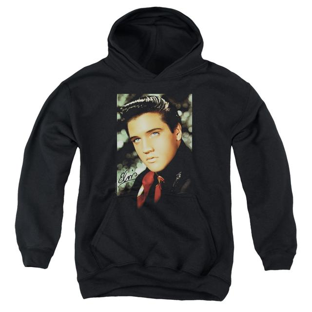 Elvis Presley Youth Hoodie | RED SCARF Pull-Over Sweatshirt
