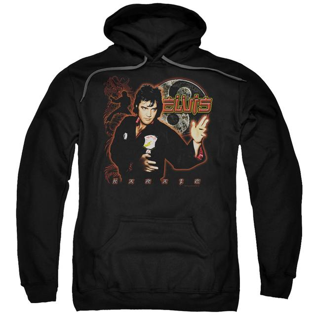 Elvis Presley Hoodie | KARATE Pull-Over Sweatshirt