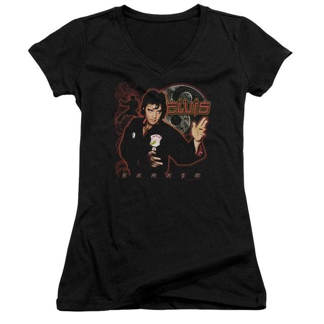 Elvis Presley Junior's V-Neck Shirt | KARATE Junior's Tee