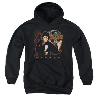 Elvis Presley Youth Hoodie | KARATE Pull-Over Sweatshirt