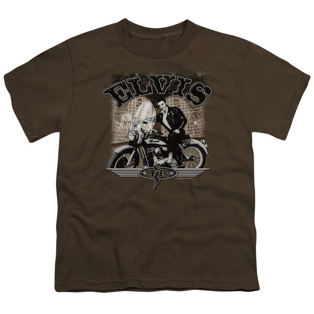 Elvis Presley Youth Tee | TCB CYCLE Youth T Shirt