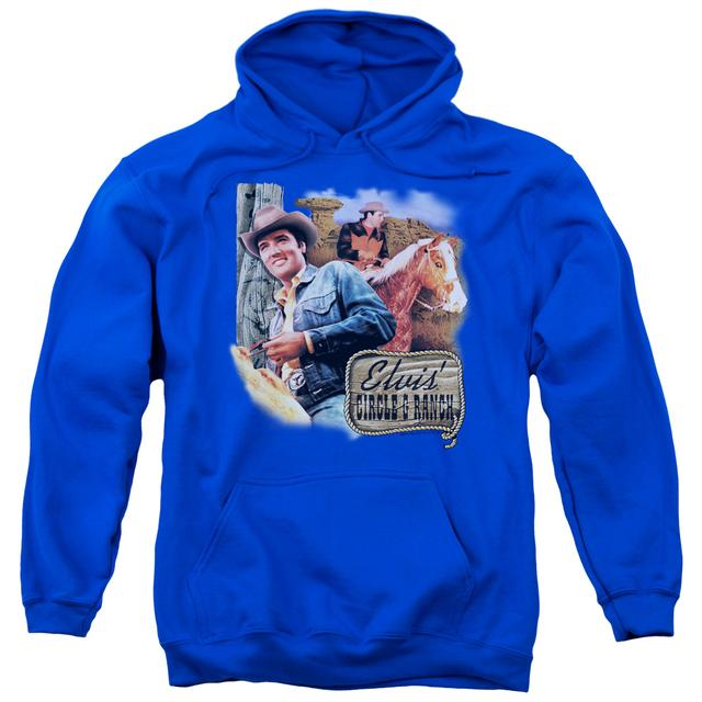 Elvis Presley Hoodie | RANCH Pull-Over Sweatshirt