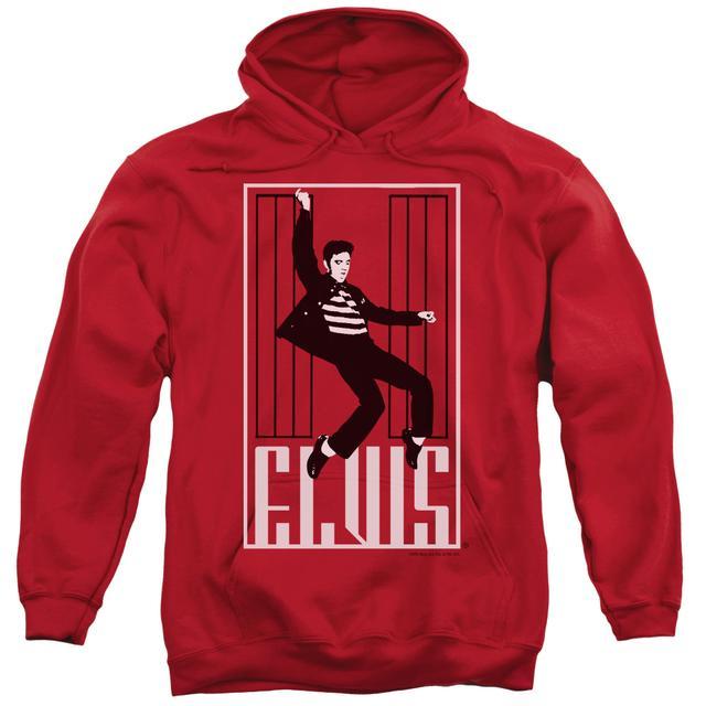 Elvis Presley Hoodie | ONE JAILHOUSE Pull-Over Sweatshirt