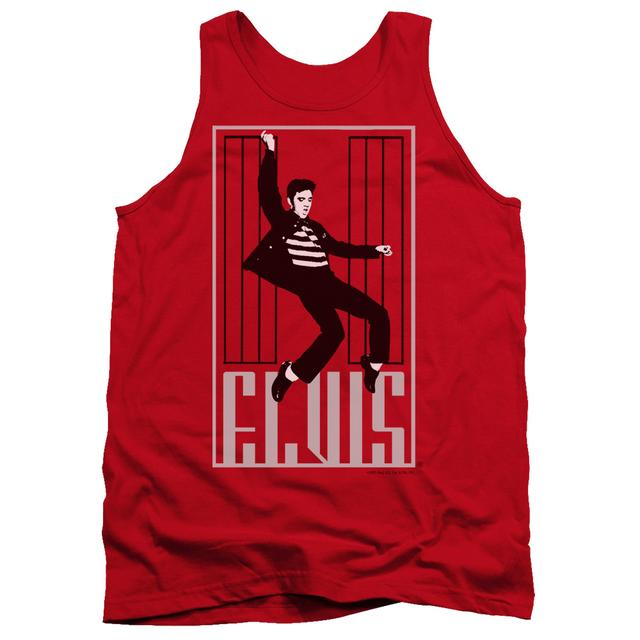 Elvis Presley Tank Top | ONE JAILHOUSE Sleeveless Shirt