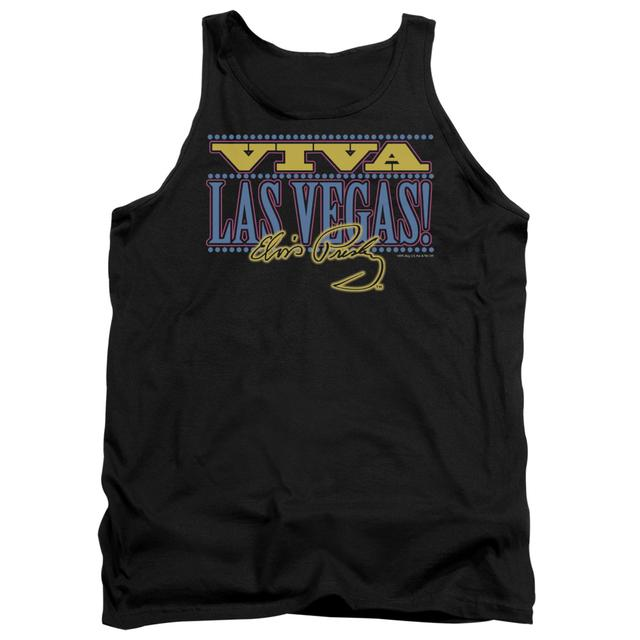 Elvis Presley Tank Top | VIVA LAS VEGAS Sleeveless Shirt