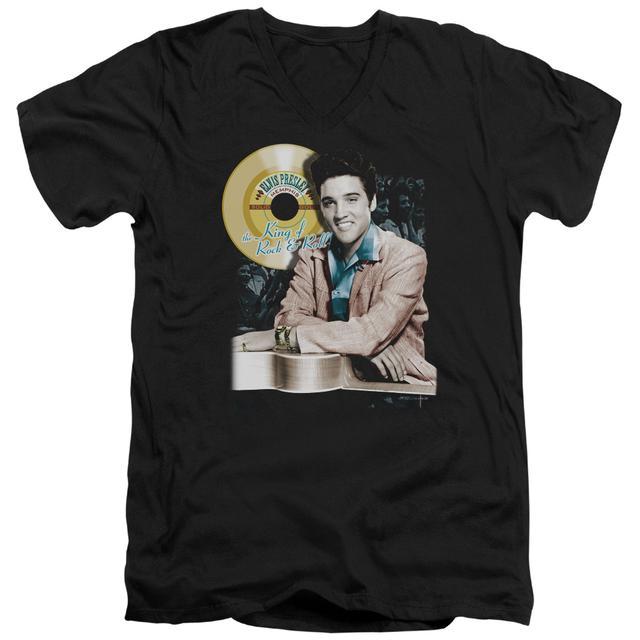 Elvis Presley T Shirt (Slim Fit) | GOLD RECORD Slim-fit Tee
