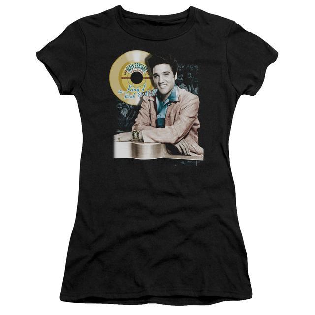 Elvis Presley Juniors Shirt | GOLD RECORD Juniors T Shirt
