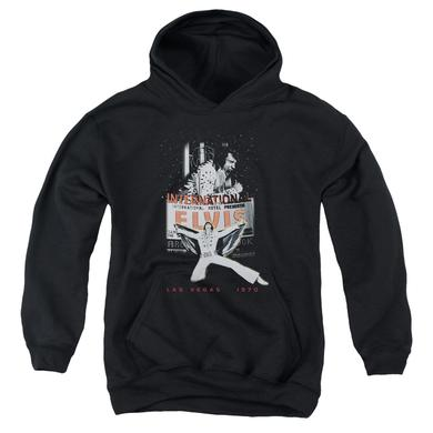 Elvis Presley Youth Hoodie | LAS VEGAS Pull-Over Sweatshirt