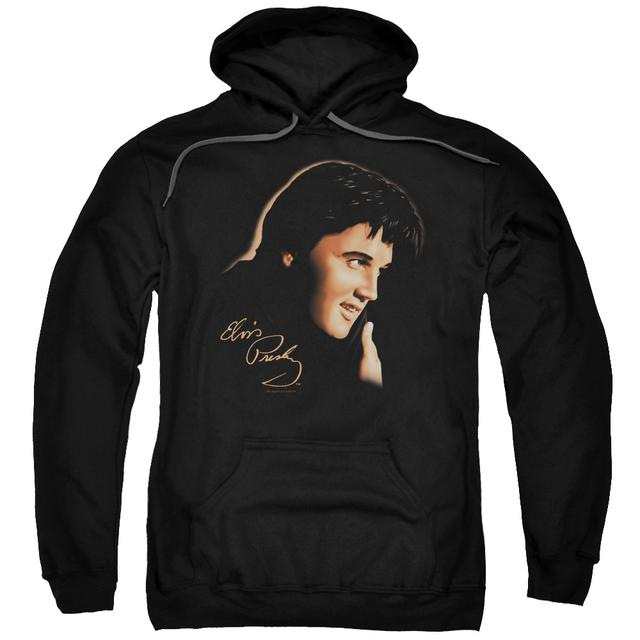 Elvis Presley Hoodie | WARM PORTRAIT Pull-Over Sweatshirt