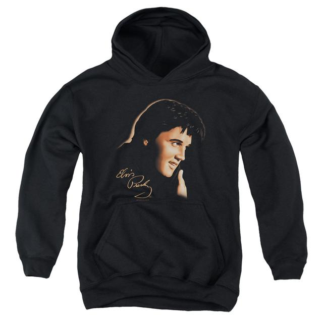 Elvis Presley Youth Hoodie | WARM PORTRAIT Pull-Over Sweatshirt