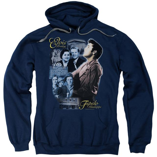 Elvis Presley Hoodie | TUPELO Pull-Over Sweatshirt