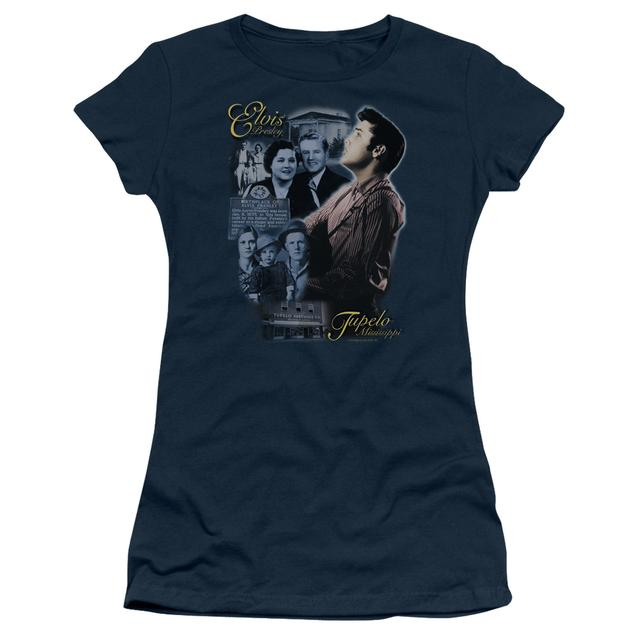 Elvis Presley Juniors Shirt | TUPELO Juniors T Shirt