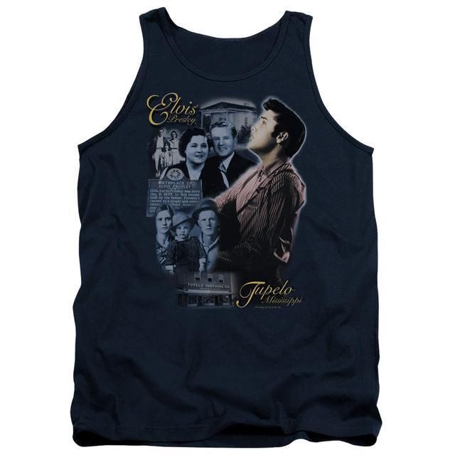 Elvis Presley Tank Top | TUPELO Sleeveless Shirt
