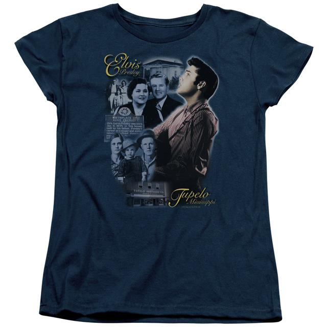 Elvis Presley Women's Shirt | TUPELO Ladies Tee