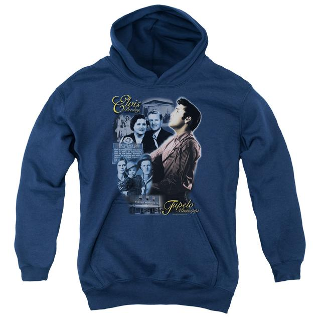 Elvis Presley Youth Hoodie | TUPELO Pull-Over Sweatshirt
