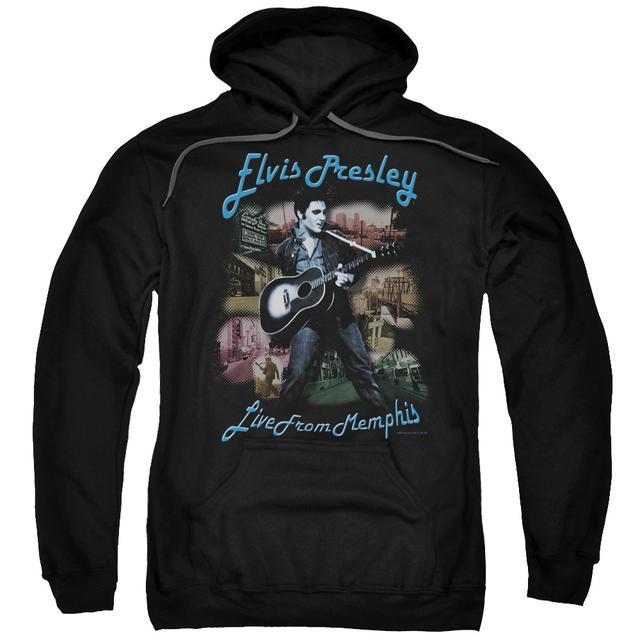 Elvis Presley Hoodie | MEMPHIS Pull-Over Sweatshirt