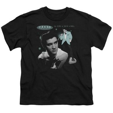 Elvis Presley Youth Tee | TEAL PORTRAIT Youth T Shirt