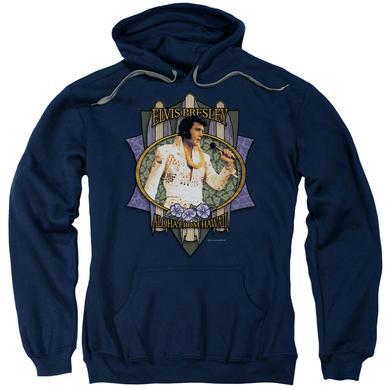Elvis Presley Hoodie   ALOHA FROM HAWAII Pull-Over Sweatshirt