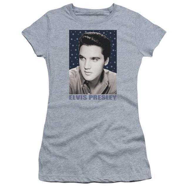 Elvis Presley Juniors Shirt | BLUE SPARKLE Juniors T Shirt