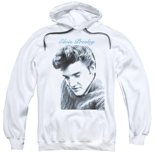 Elvis Presley Hoodie | SCRIPT SWEATER Pull-Over Sweatshirt