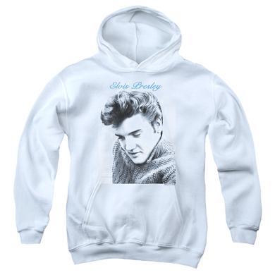 Elvis Presley Youth Hoodie   SCRIPT SWEATER Pull-Over Sweatshirt