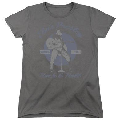 Elvis Presley Women's Shirt   ROCK & ROLL Ladies Tee