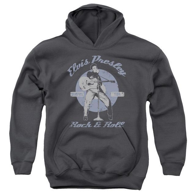 Elvis Presley Youth Hoodie   ROCK & ROLL Pull-Over Sweatshirt