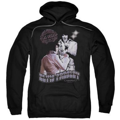 Elvis Presley Hoodie | VIOLET VEGAS Pull-Over Sweatshirt