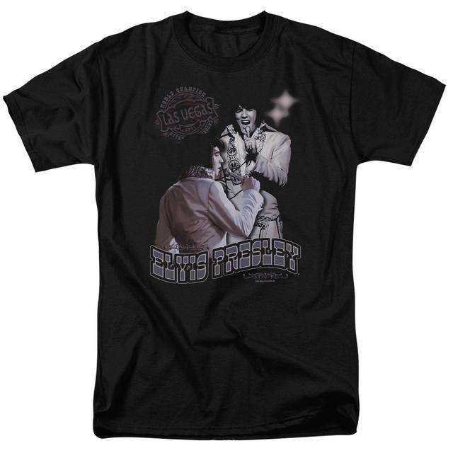 Elvis Presley Shirt | VIOLET VEGAS T Shirt
