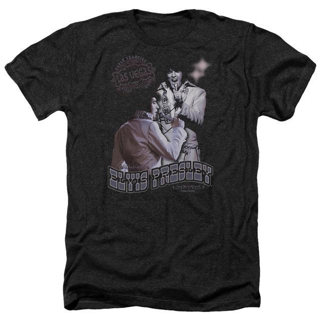 Elvis Presley Tee | VIOLET VEGAS Premium T Shirt
