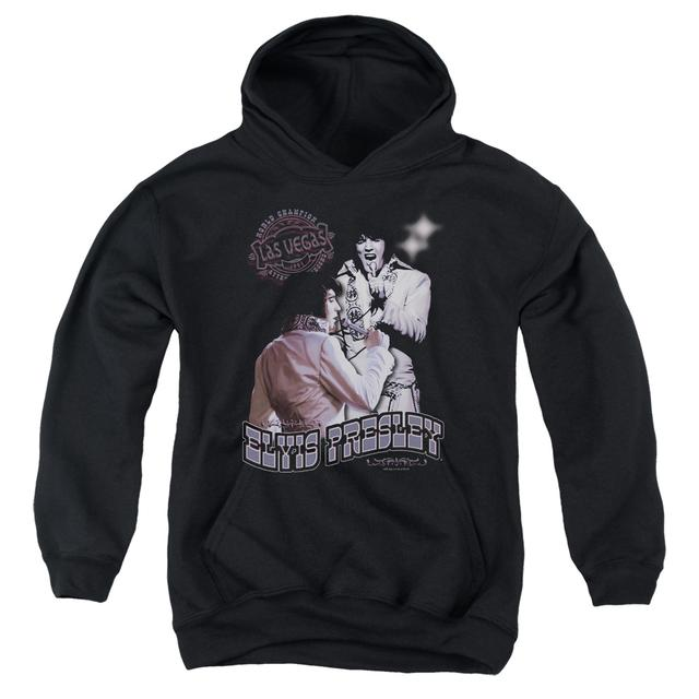 Elvis Presley Youth Hoodie | VIOLET VEGAS Pull-Over Sweatshirt