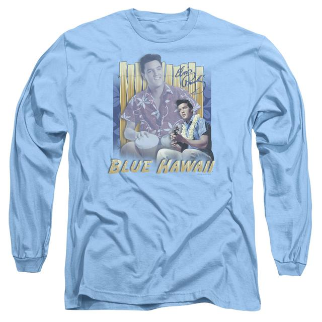 Elvis Presley T Shirt   BLUE HAWAII Premium Tee