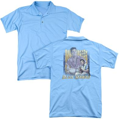 Elvis Presley BLUE HAWAII (BACK PRINT)