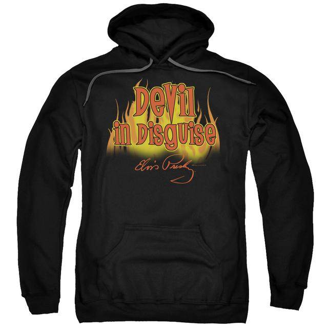 Elvis Presley Hoodie | DEVIL IN DISGUISE Pull-Over Sweatshirt