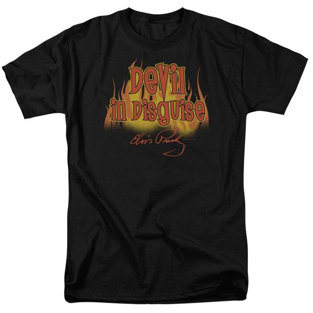 Elvis Presley Shirt   DEVIL IN DISGUISE T Shirt