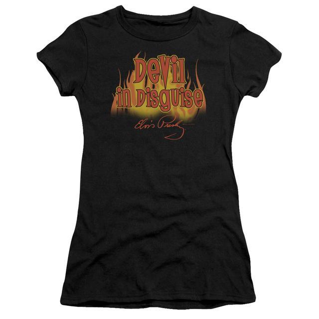 Elvis Presley Juniors Shirt | DEVIL IN DISGUISE Juniors T Shirt