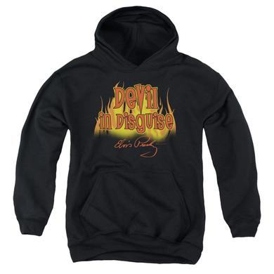 Elvis Presley Youth Hoodie | DEVIL IN DISGUISE Pull-Over Sweatshirt