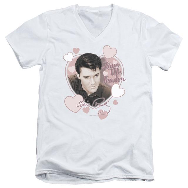 Elvis Presley T Shirt (Slim Fit) | LOVE ME TENDER Slim-fit Tee