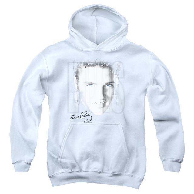 Elvis Presley Youth Hoodie   BLUE EYES Pull-Over Sweatshirt