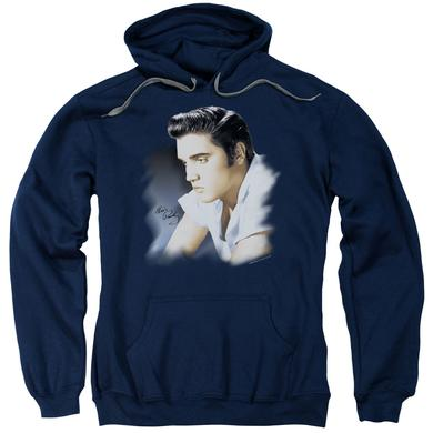 Elvis Presley Hoodie | BLUE PROFILE Pull-Over Sweatshirt