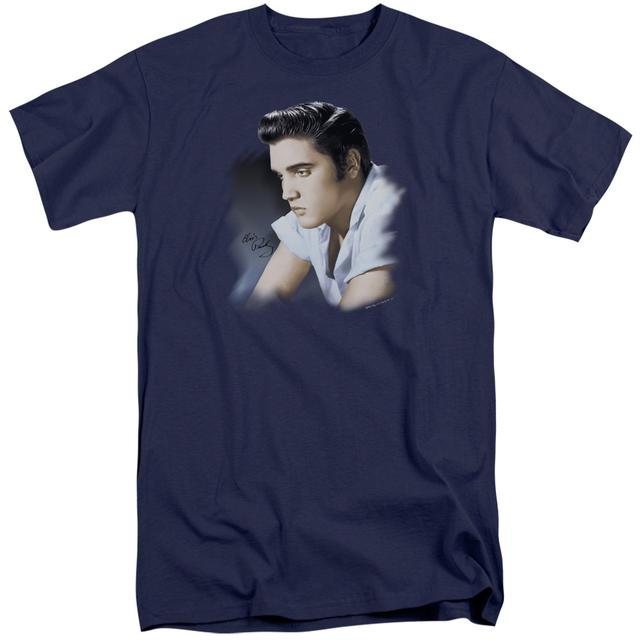 Elvis Presley BLUE PROFILE