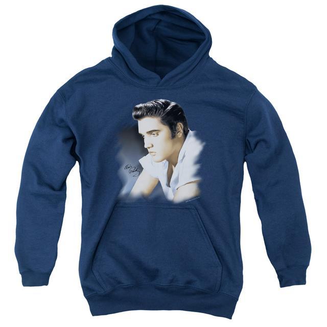 Elvis Presley Youth Hoodie | BLUE PROFILE Pull-Over Sweatshirt