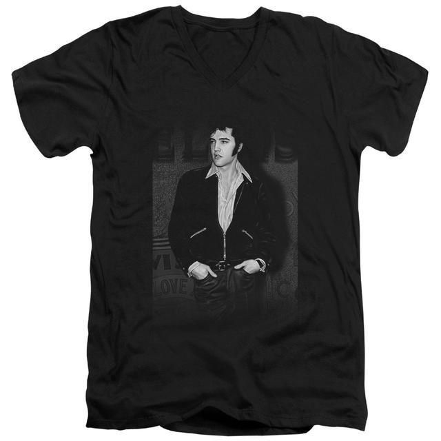 Elvis Presley T Shirt (Slim Fit) | JUST COOL Slim-fit Tee