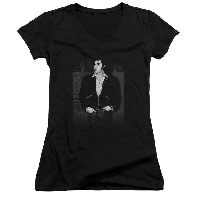 Elvis Presley Junior's V-Neck Shirt | JUST COOL Junior's Tee