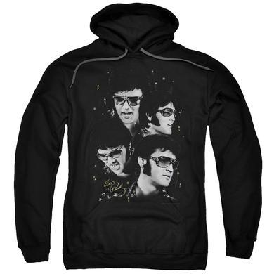 Elvis Presley Hoodie | FACES Pull-Over Sweatshirt